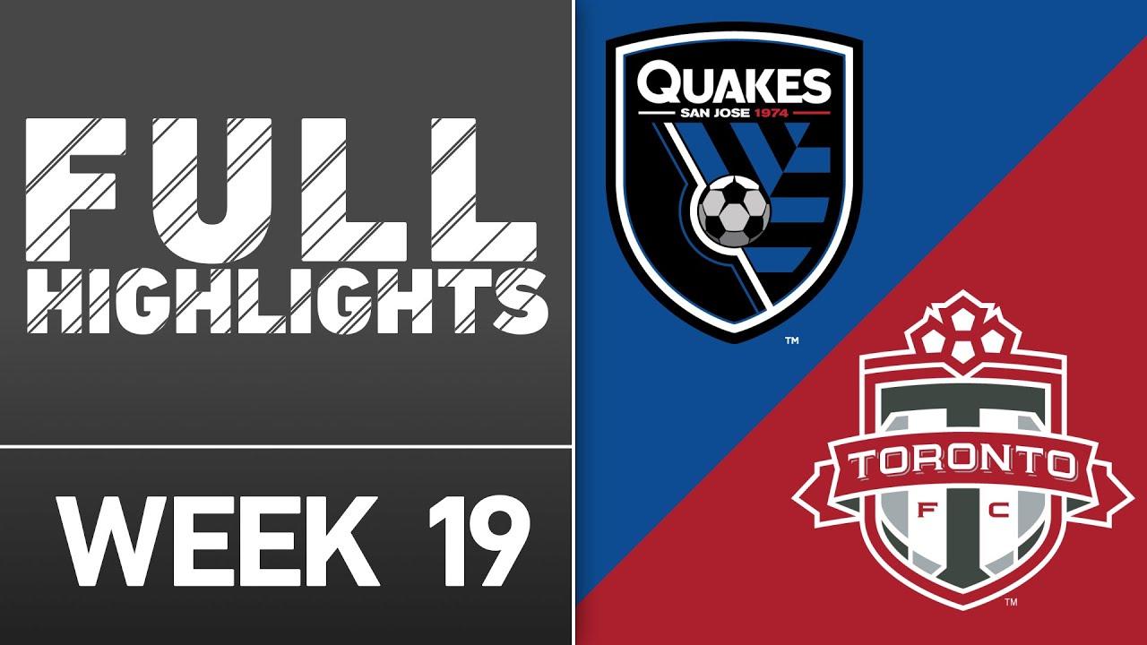 HIGHLIGHTS: San Jose Earthquakes vs. Toronto FC   July 16, 2016