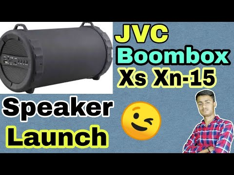 JVC Boombox XS XN-15 Speaker 🔊 Launch.....? || Some Specification......
