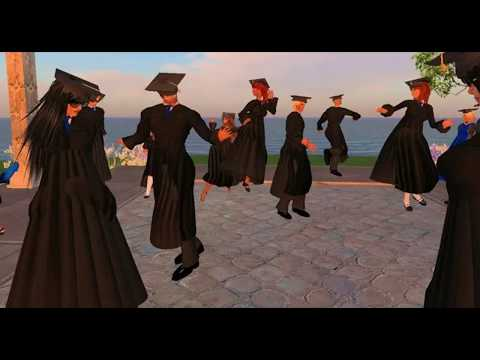 SECOND LIFE - (#115) Tippecanoe High School Graduation In Second Life?!