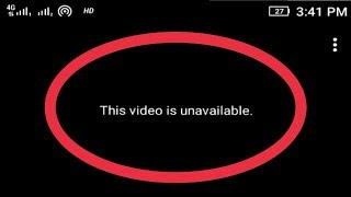 Fixed || This Video is Unavailable In YouTube Error Solve (Explained)