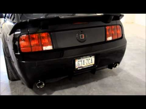 2005 2010 Mustang Gt 4 6l Slp Quot Loudmouth Quot Axle Back