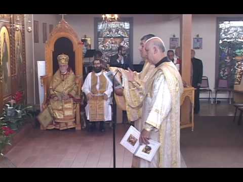 Hierarchical Divine Liturgy with the Ordination of Fr. Sergio Ayala, 17 July 2016