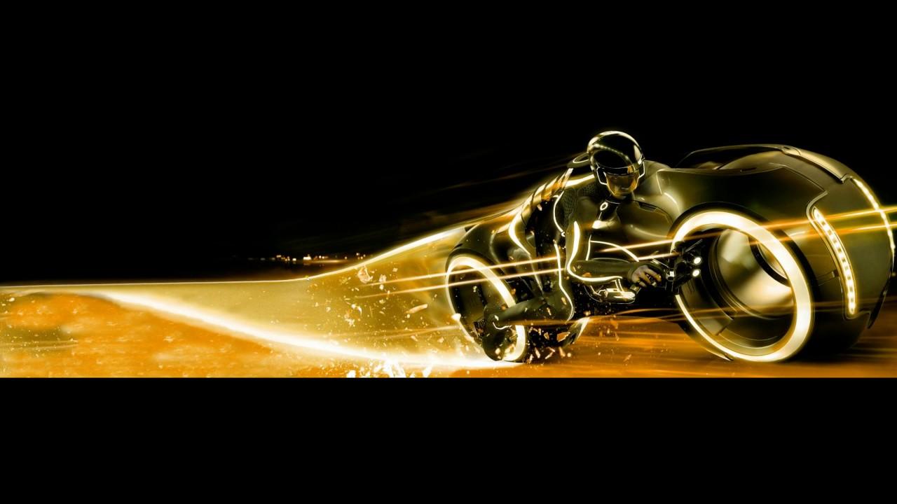 Tron 3840x1080 DualScreen