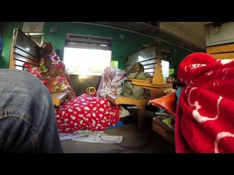 Train ride in Myanmar  -  Ordinary class