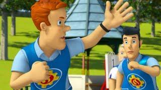 Sam el Bombero en Espanol : A Flote | Temporada 10 - 1 Hora compilacion 🔥Dibujos animados
