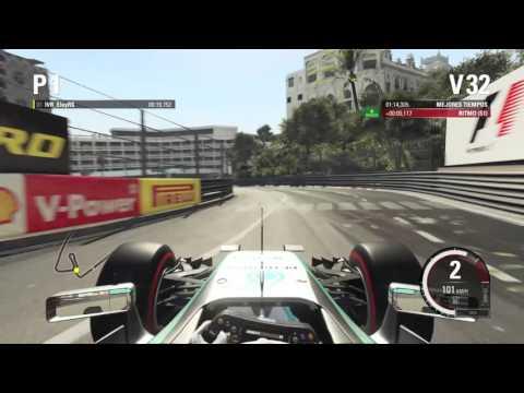 F1™ MONACO calentando motores
