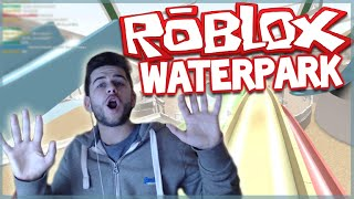 ★DEATH TRAP WATER SLIDES!! ROBLOX WATERPARK (Roblox Spiele)★