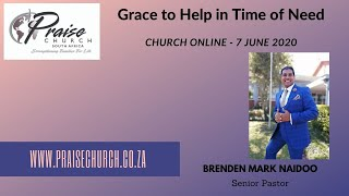 Grace to help in time of need