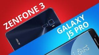 Samsung Galaxy J5 Pro vs ASUS Zenfone 3 [Comparativo]