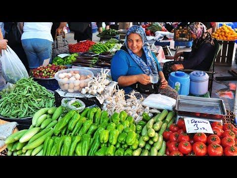Liman Market in Antalya (Konyaalti district), Turkey