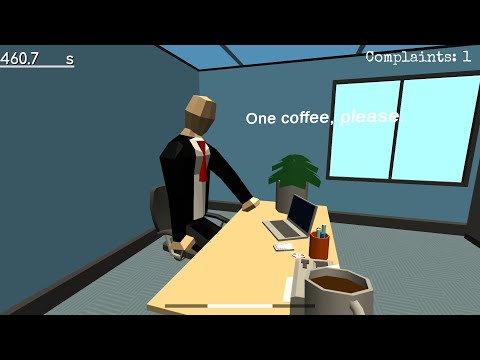 Secretary's hell (Life Simulation Game)