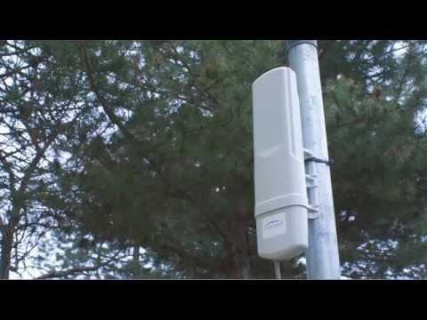 Ubiquiti airFiber 24 GHz Point-to-Point radio Advanced Antenna System