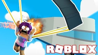 ESCAPE THE PLANE CRASH | Roblox Obby