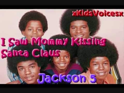Jackson 5 I Saw Mommy Kissing Santa Claus (Kids...