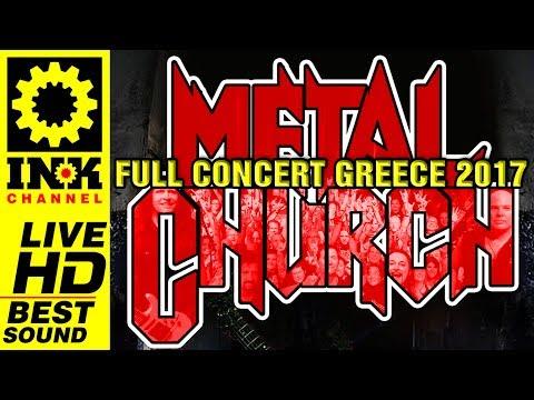 METAL CHURCH - Full Concert in Greece [26/6/17 8ball Thessaloniki]