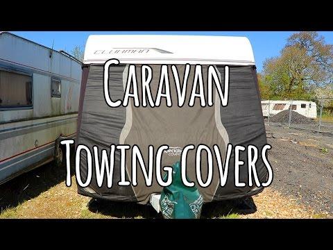 Caravan towing covers