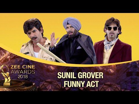 Sunil Grover gives