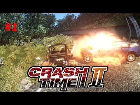 Crash Time 2 || Best Worst Glitchy Game Ever! [All Vehicles Unlocked Gameplay #1] |