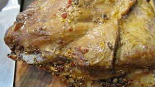 Запеченная пряная грудинка | Cвиная грудинка по-венгерски | Hatfűszeres sült sertéshasaalja