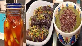 سنة أولي طبخ مع الشيف سارة عبد السلام | طريقة عمل البصارة - مخلل ليمون معصفر - مخلل الباذنجان