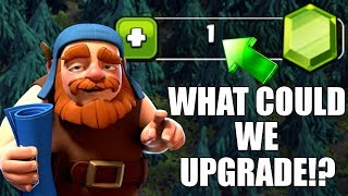 TINY GEM SPREE.....BUT WHAT COULD IT BE!? - Clash Of Clans - MAXING BUILDERS HALL 7!
