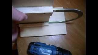 Приспособление для зажима пилки на ручном лобзике