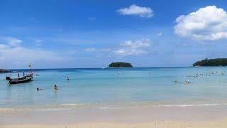Дорога на пляж Ката бич Пхукет Тайланд(, 2016-12-25T13:13:13.000Z)
