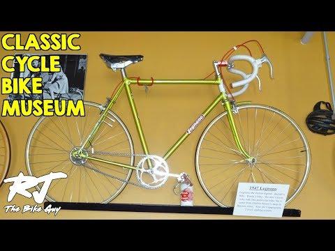 Bicycle Museum at Classic Cycle Bike Shop, Bainbridge Island, WA