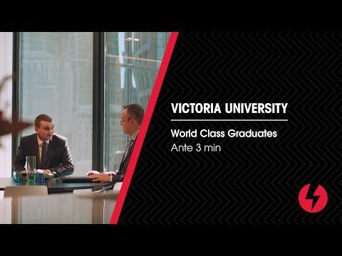 [Victoria University] World Class Graduates - Ante 3mins