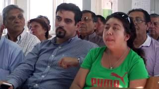 Alcalde y Vecinos conocen avances de nuevo Hospital Félix BUlnes