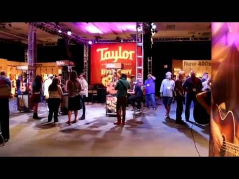 NAMM 2015 - Taylor Guitars - Booth Walkthrough