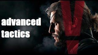 Продвинутые тактики в Metal Gear Solid V TPP Гайд