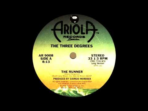 The Three Degrees - The Runner (Ariola Records 1979)