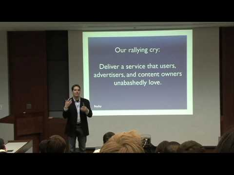 Jason Kilar, CEO of Hulu, speaks to business students - YouTube