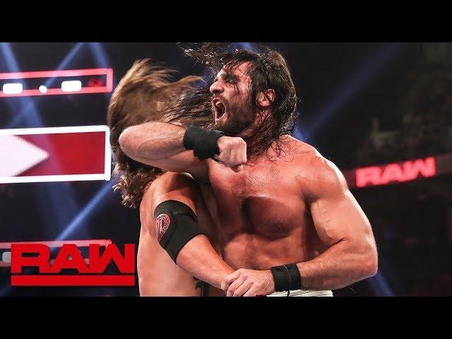 HINDI - Seth Rollins vs. AJ Styles – Champion vs. Champion Match: Raw, August 13, 2019