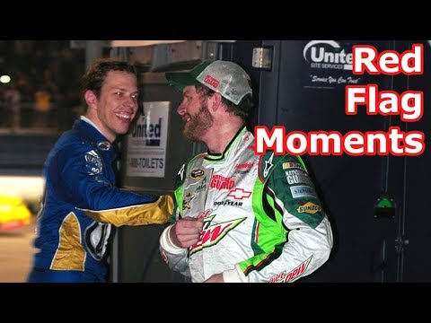 Funniest Red Flag Moments in NASCAR