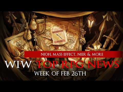 Top RPG News of The Week on Nioh DLC, Morrowind Trailer, Mass Effect Gameplay & More!