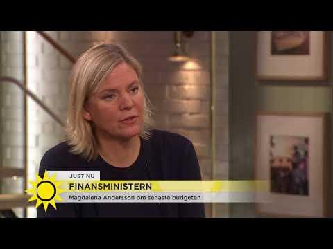 """Finansministern: """"Vi har inte fläskat på - vi har betalat av och sparat i ladorna"""" - Nyhet"""