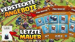Letzte Mauer auf Rathaus 13   Verstecke Angebote in Clash of Clans   Neues Rh 12 Projekt   iTzu