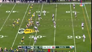 "Aaron Rodgers: ""AHH FUCK"" After Bad Snap Heard On National TV"