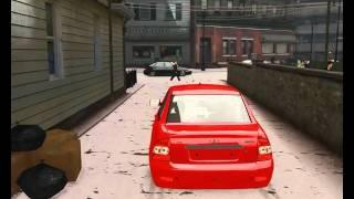 GTA-4: БПАН-без посадки авто нет. Приора.#1