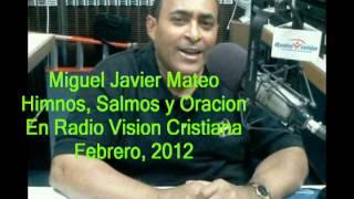 Miguel Javier Mateo presenta Himnos Salmos y Oraciones en Ra...