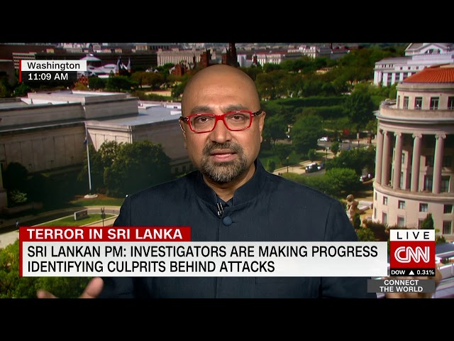 CNN interview w/ Bobby Ghosh - Sri Lanka Easter bombings