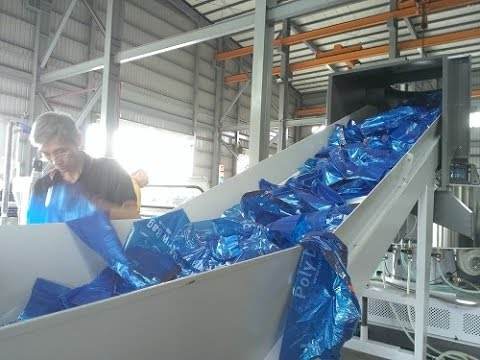 South Africa recycling compactor