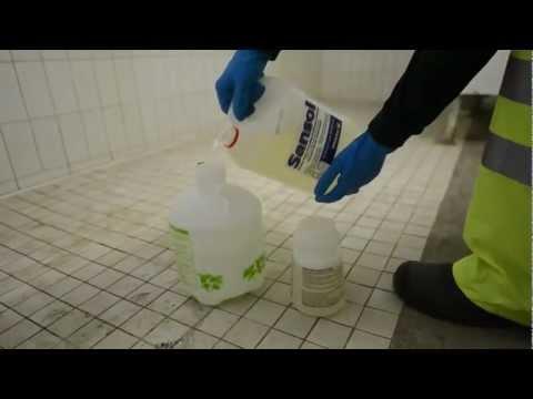 SANSOL - How To Clean A Bathroom / Washroom Using SANSOL