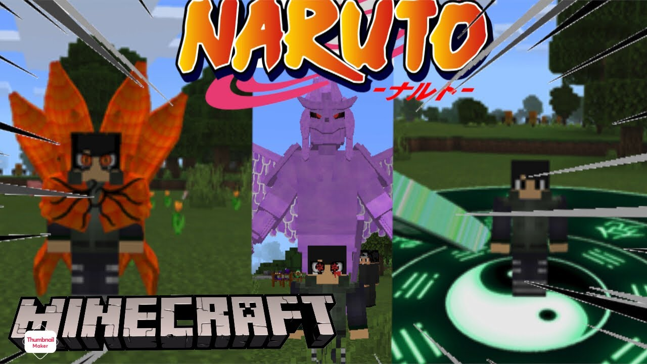 [Naruto Mod] how to download the new best naruto addon on Minecraft pe /mcpe