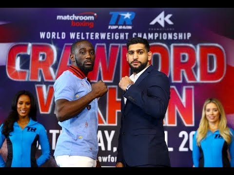 Khan Vs Crawford 50/50 Fight - SBM Boxing LIVE