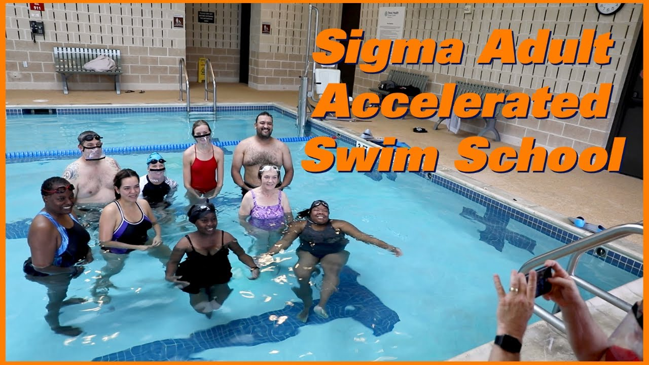 Accelerated Swim School - Adults achieve water safety, independence, and efficiency in two weekends