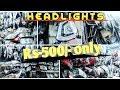 JAMA MASJID CHEAP SPARE PART MARKET (headlights  RS-500) full explored
