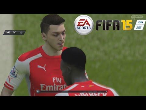 Temporadas Online   FIFA 15 Gameplay en PS4 - Arsenal Vs Chelsea, Duro rival